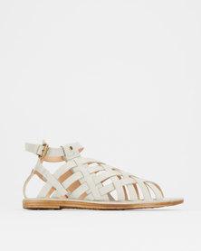 Franco Gemelli Margie Ladies Sandals Grey
