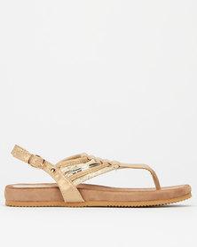 Franco Gemelli Arlene Ladies Sandals Beige