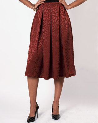 Marique Yssel Lucy Skirt - Rust