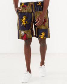 Chepa Pitsi Printed Shorts Multi