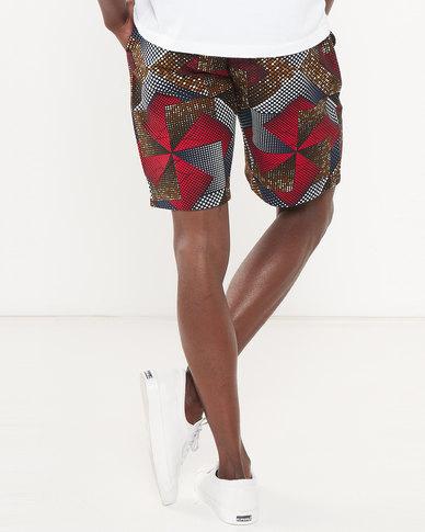 Chepa Mpume Printed Shorts Multi