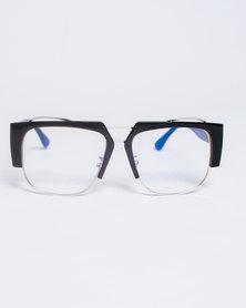 Era Nu Eyewear Corporate Steez Clear Black