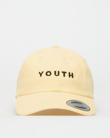 FLEXFIT Youth Peak Cap Yellow