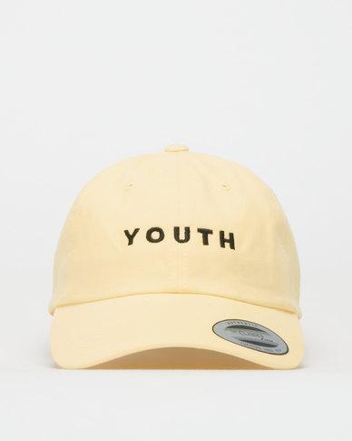 FLEXFIT Youth Peak Cap Yellow