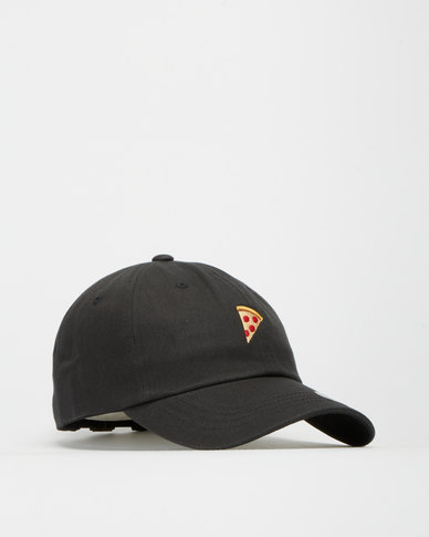 FLEXFIT  Pizza Slice Peak Cap  Black