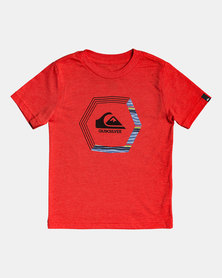 Quiksilver Tods Blade Dreams T-Shirt Red