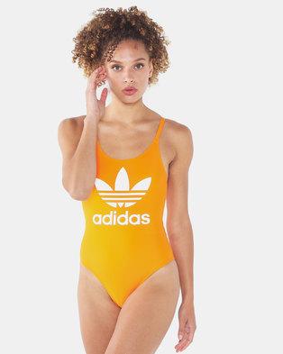 adidas Originals Trefoil Swimwear Orange