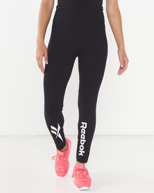 Reebok Ladies Lf Leggings Black