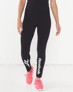 Reebok Ladies Lf Leggings Black