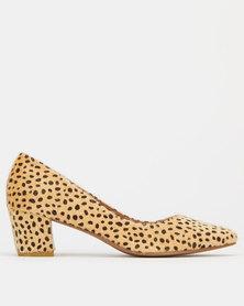 SOA Desk Courts Heels Leopard