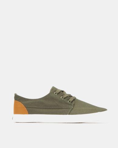 Tom_Tom Sneakers Olive/Tan