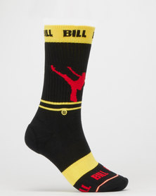 Stance Kb Silhouettes Socks Yellow