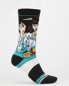 Stance Mia Booth Socks Blue