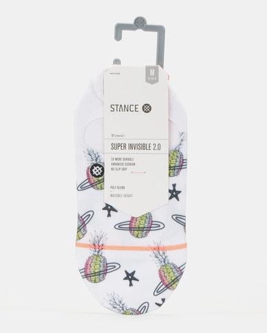 Stance Pineapple Planet Socks White