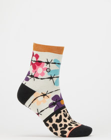 Stance Flower Power Socks Multi