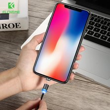 Floveme 3-in-1 USB Magnetic Cable For iOS/Type C/ Micro USB - 2m