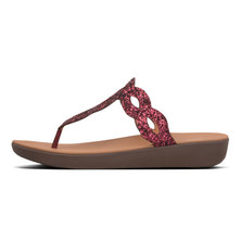 FitFlop Kerstin Glitter Interlace Lingonberry