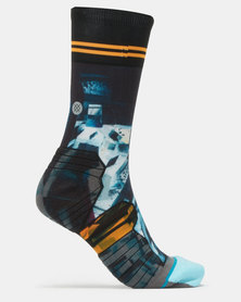 Stance Performance MOON MAN CREW Socks Multi
