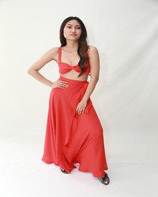 INFIN8TI Frill Wrap Skirt