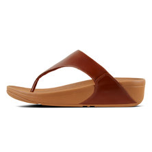 FitFlop Lulu Leather Cognac