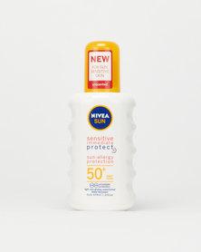 Nivea Sun  Sensitive Immediate Protection Adult Spray SPF50+ Sunscreen 200ml