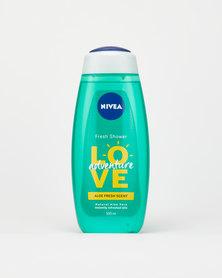 Nivea Love Adventure Shower Gel/Body wash 500ml
