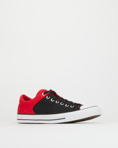 Converse Chuck Taylor All Star High Street Ox Enamel Red/Black/White