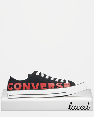 Converse Chuck Taylor All Star Sneakers Black/Red