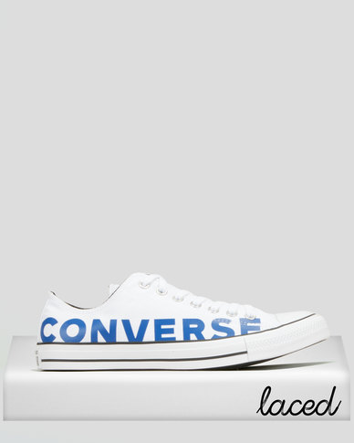 Converse Chuck Taylor All Star Sneakers White/Blue