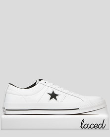 Converse One Star Leather OX Sneakers White