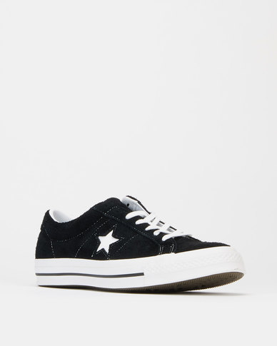 Converse One Star OG Suede OX Sneakers Black/White