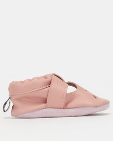 Shooshoos Baby Le Fromage Soft Soles Pink