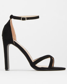 Utopia High Narrow Heels Black