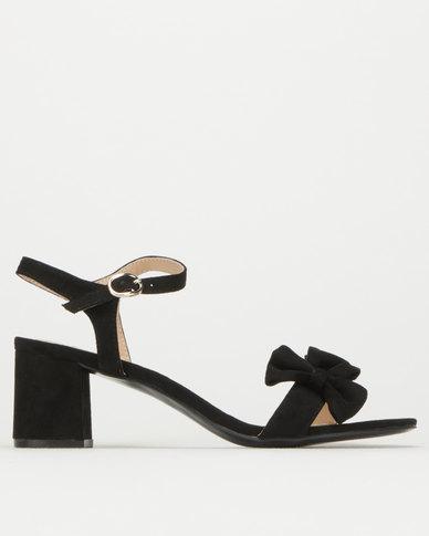 Utopia Midi Heels Black