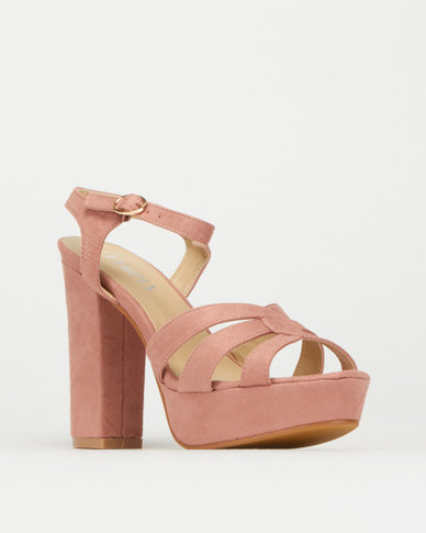 Utopia High Heels Dusty Pink
