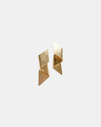 Ziara Nea Earrings - Gold