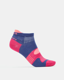 Falke Performance Hidden Dry Unisex Twilight & Lucy Pink