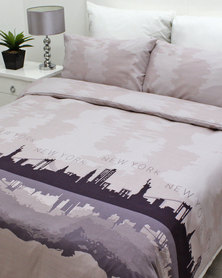 Sheraton New York Skyline Duvet Cover Set