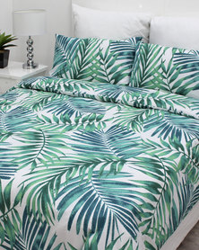 Sheraton Tropica Duvet Cover Set Green