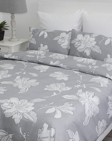 Sheraton Sheron Duvet Cover Set Grey