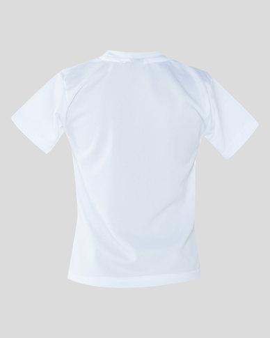 Schoolwear SA Birds Eye Hydra PT T-shirt White