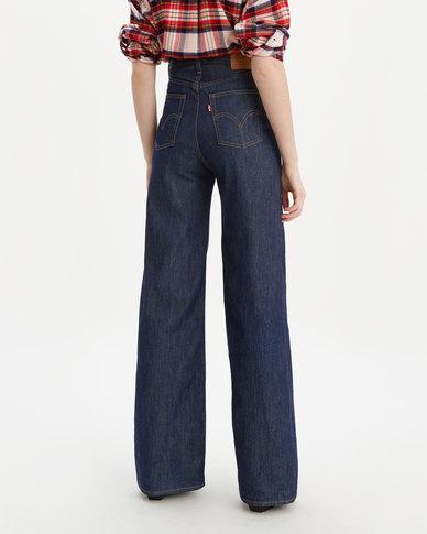 Levi's ® Ribcage Wide Leg Jeans Blue
