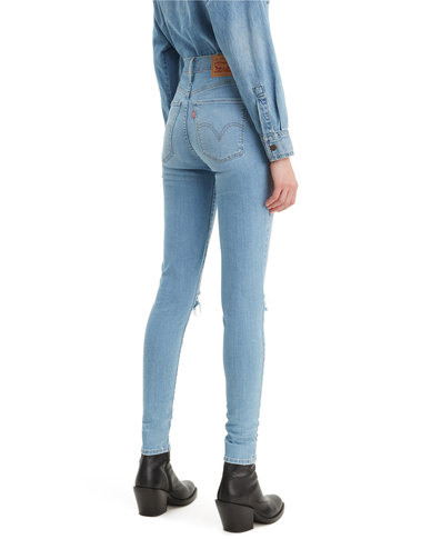 Levi's ® Mile High Super Skinny Jeans Blue