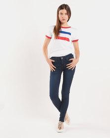 Levi's ® 711 Skinny Jeans Blue