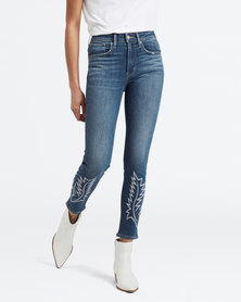 Levi's ® 721 High Rise Skinny Ankle Jeans Blue