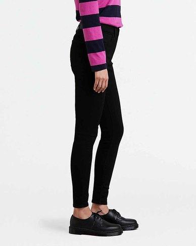 Levi's ® 720 High Rise Super Skinny Jeans Black