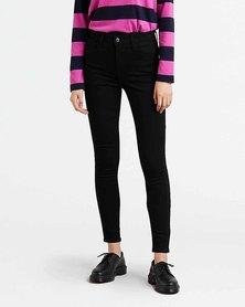 Levi's® 720 High Rise Super Skinny Jeans Black