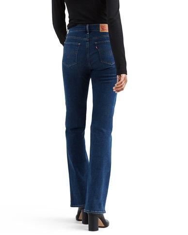 Levi's ® Curvy Bootcut Jeans Blue