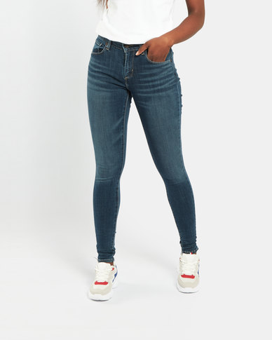 Levi's ® Curvy Skinny Jeans Blue