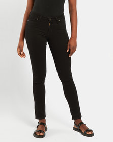 Levi's® 712 Slim Jeans Black